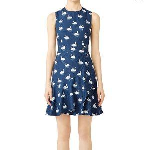 Draper James Blue Swan Dress